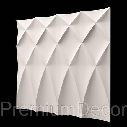 Гипсовые 3Д/3D панели БУФЫ, фото 2
