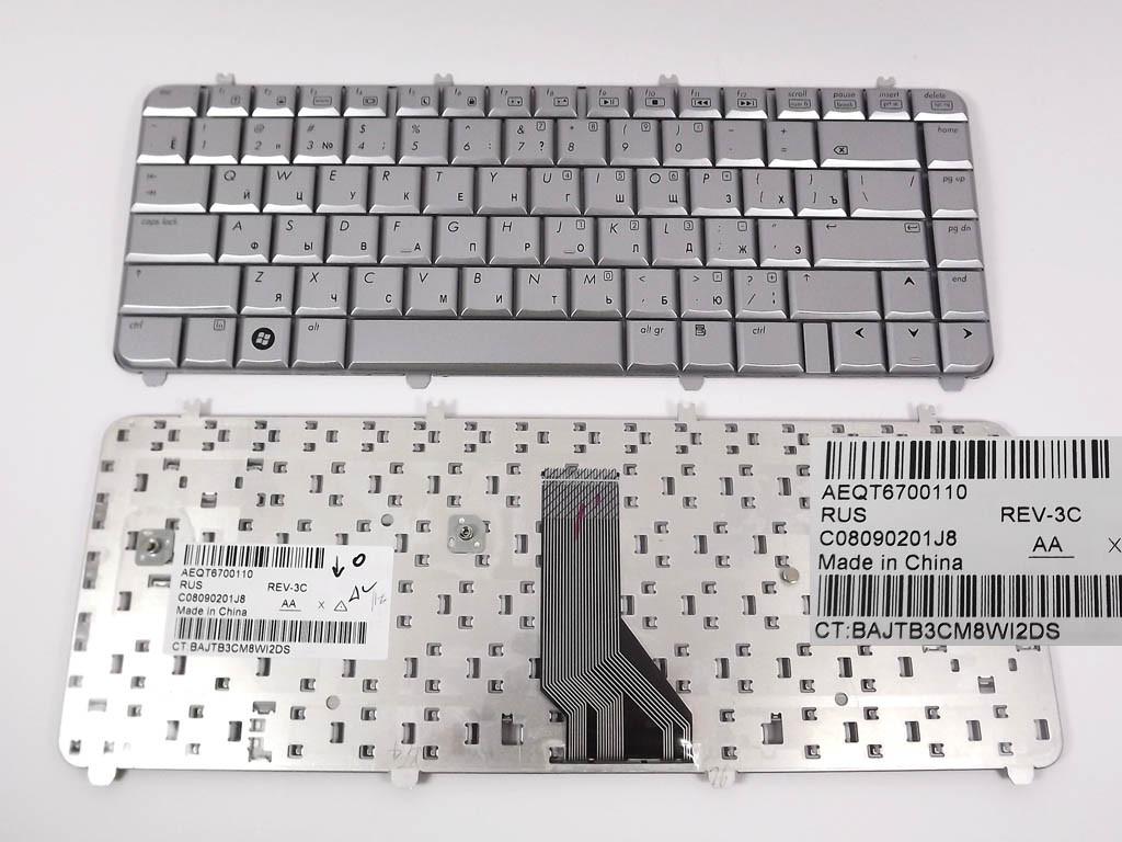 Клавиатура для HP DV5-1000, DV5, DV5T, DV5-1100, DV5-1200