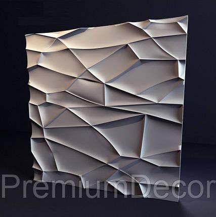 Гипсовые 3Д/3D панели РОК, фото 2