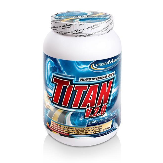 Гейнер IronMaxx Titan v.2.0 2000 g