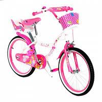 Велосипед детский с корзиной 20дюймов