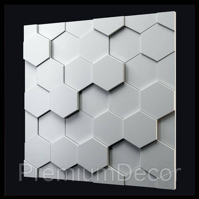 Гипсовые 3Д/3D панели УЛЕЙ