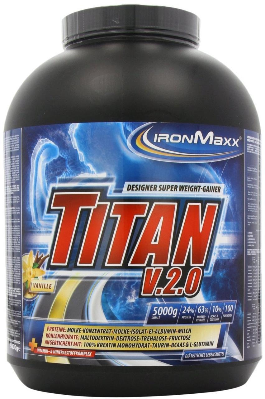 Гейнер IronMaxx Titan v.2.0 5000 g