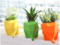 Подставка для цветов или всяких мелочей - интересный мини-подарок и полезное приобретение для дома!