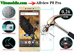 Защитное стекло оригинальное Allview P8 Pro 2,5D / закругленные края / олеофобное покрытие