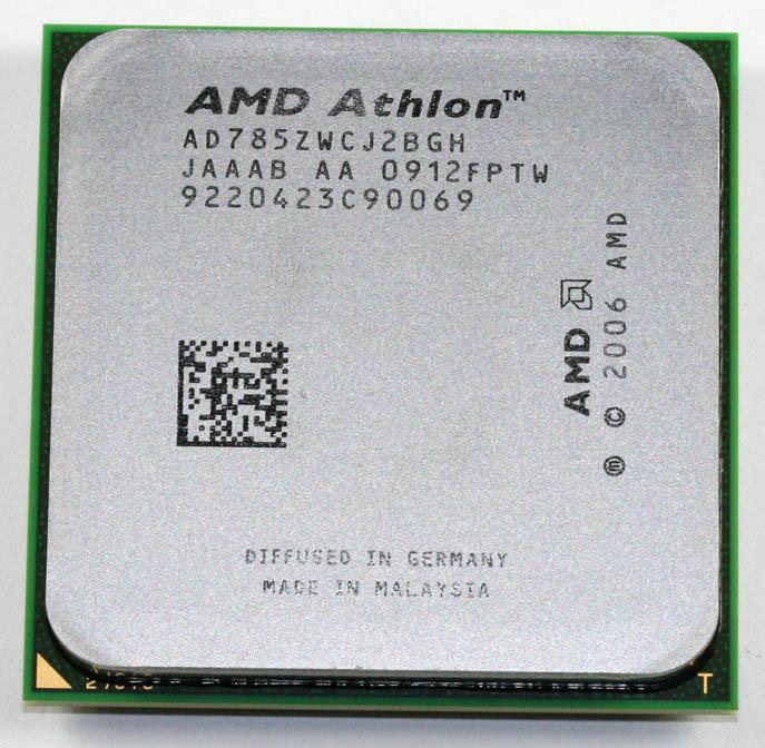 Процессор AMD ATHLON X2 7850 sam2+ - 2 ЯДРА ( 2 по 2.8 Ghz каждое ) AD785ZWCJ2BGH sam2 am2+ am3