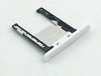 Держатель карты памяти Nokia Lumia 720 White, оригинал
