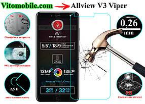 Защитное стекло оригинальное Allview V3 Viper 2,5D / закругленные края / олеофобное покрытие