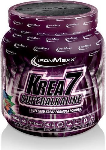 Креатин IronMaxx Krea 7 SuperAlkaline 500 g