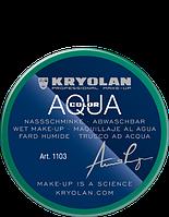 Зеленый аквагрим AQUACOLOR 55 мл (оттенок Green 42)
