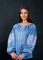 Дизайнерская вышитая блуза , фото 1