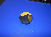 Дверной упор круглый золото, фото 1