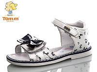 Босоножки, сандалии нарядные для девочки р.25-30 ТМ Tom.m С-Т19-18G d/blue-white