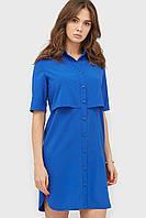 Женское платье из блузочной вискозы с пуговицами спереди (Olei crd)