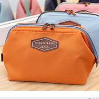 Косметичка с внутренними карманами Genner Un Jour оранжевая 01033/01
