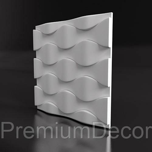 Гипсовые 3Д/3D панели ЧЕШУЯ