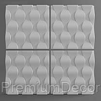 Гипсовые 3Д/3D панели ЧЕШУЯ, фото 3