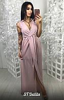 Вечернее платье в пол шифон