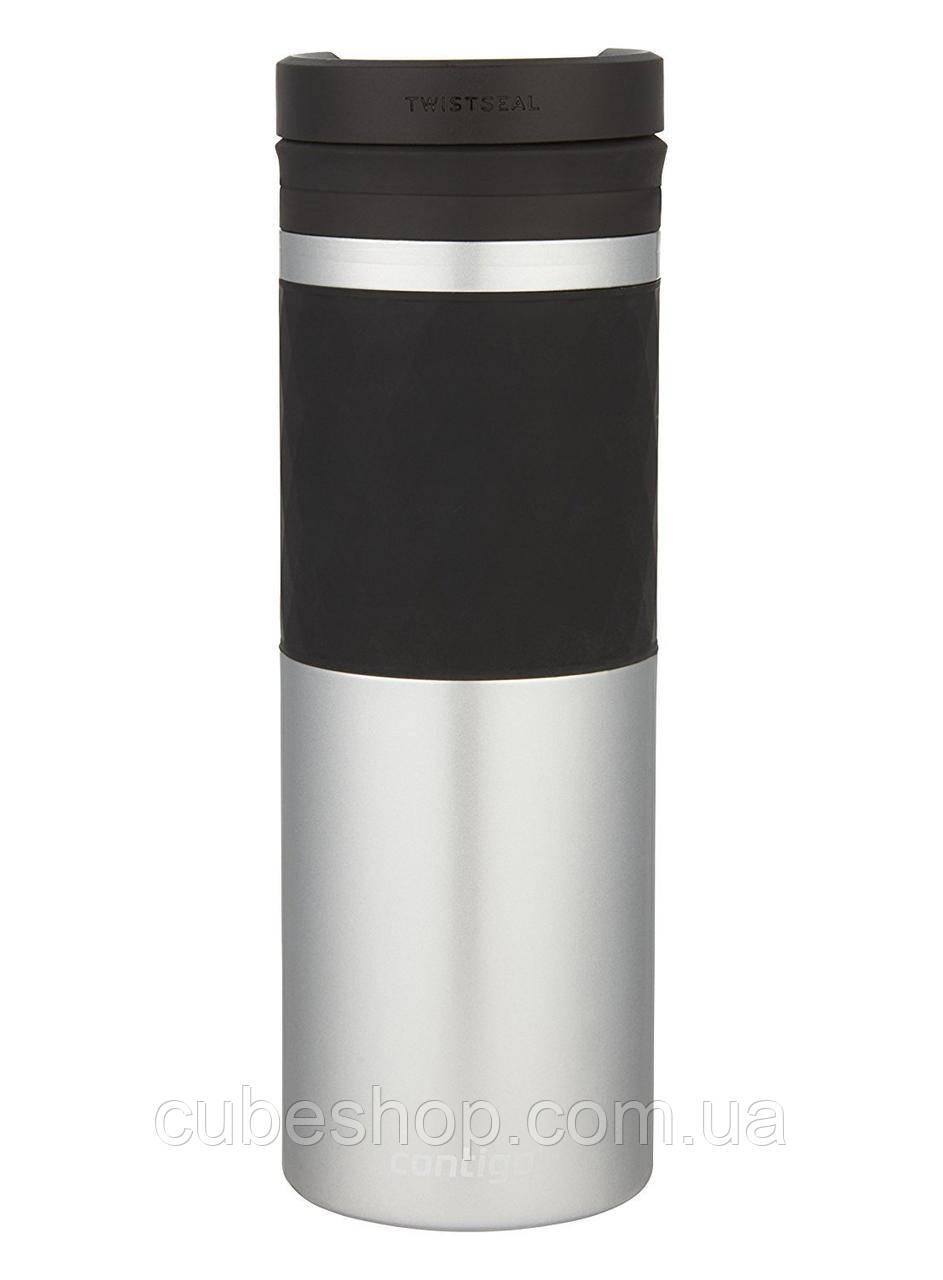 Термокружка Contigo Glaze (470 мл) Silver