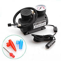 Автомобильный воздушный мини компрессор 300 PSI, Компактный автокомпрессор, Компрессор от прикуривателя