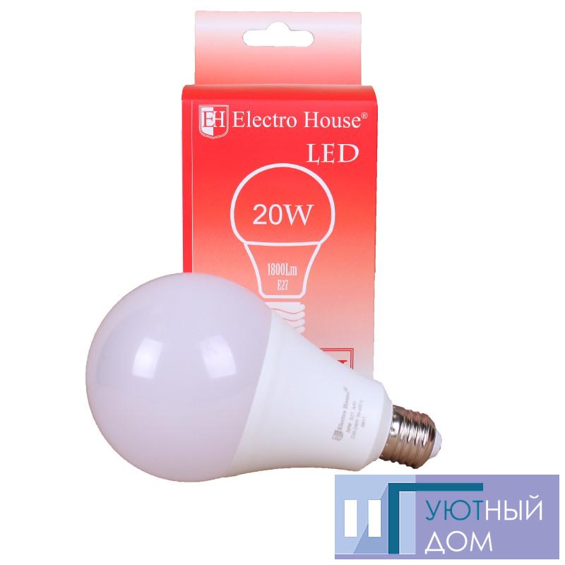 """LED лампа """"шар"""" А95 Е27 20W"""