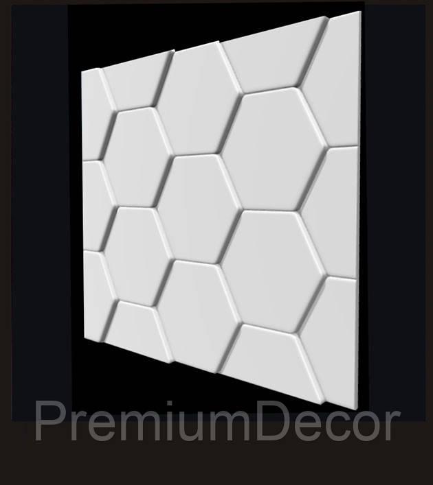 Гипсовые 3Д/3D панели ЧЕРЕПИЦА