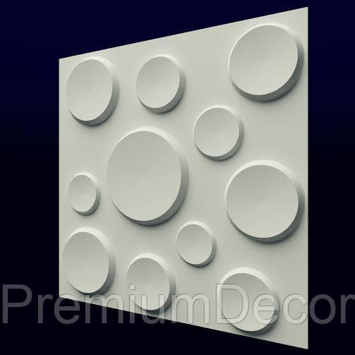 Гипсовые 3Д/3D панели КРАТЕРЫ