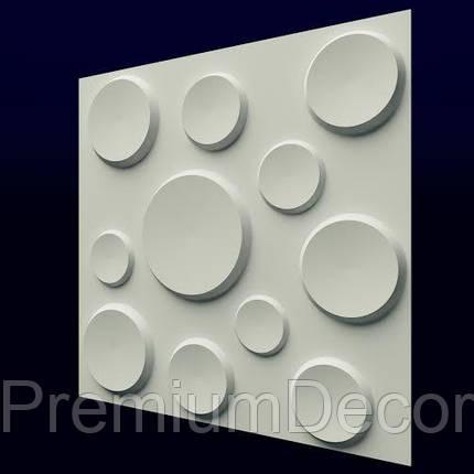 Гипсовые 3Д/3D панели КРАТЕРЫ, фото 2