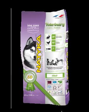 Natyka (Натика) Veterinary Rabbit корм для собак с чувствительным пищеварением, 4.5 кг