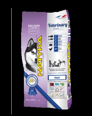 Natyka (Натика) Veterinary Ocean корм для собак с чувствительным пищеварением, 4.5 кг