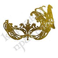 Венецианская маска Баттерфлай (золото)