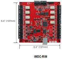 Сетевая система доступа на базе контроллеров серии iMDC с IP-связью.
