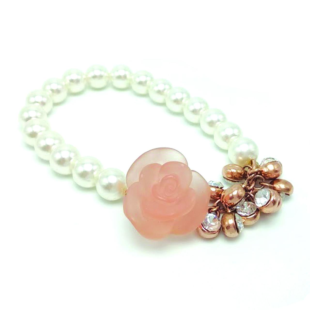 Обворожительный браслет с розой