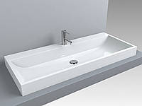 Раковина для ванной Miraggio VARNA 1000 (белый глянцевый/ 100*42 см)