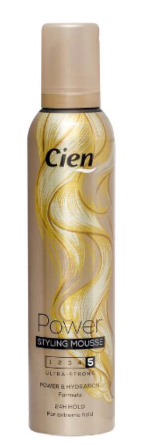 Пена для волос Cien в ассортименте 250 мл