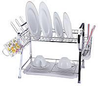Сушилка для посуды настольная/настенная WB 7407
