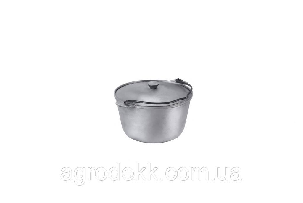 Казанок туристический (1,5 л) алюминиевый с крышкой и дужкой