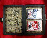 Шкатулка с картами антик