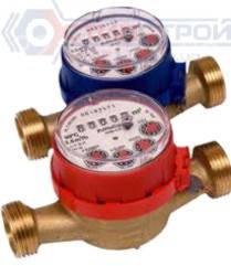 Счетчики для холодной или горячей воды одноструйные тип JS