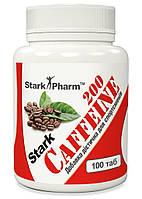 Stark Caffeine 200 mg 100 tabs. (в 2 раза выгоднее аптечного кофеина) Stark Pharm