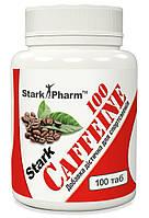 Stark Caffeine 100 mg 100 tabs. Stark Pharm (в 2 раза выгоднее аптечного кофеина)