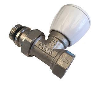 Кран радиаторный регулирующий 1/2 прямой с антипроточкой