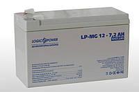 Аккумулятор мультигелевый Logicpower LP-MG 12V 7.2AH, (AGM) для ИБП