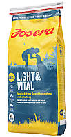 JOSERA LIGHT & VITAL с уткой (Йозера Лайт енд Витал сбалансированный корм для собак с лишним весом)
