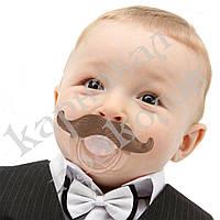 Соска с усами Мушкетер #3