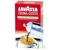 Кофе молотый Crema e Gusto — Gusto ricco 250г., фото 1