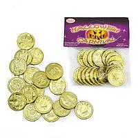 Монеты Пиастры золотые (уп. 18шт)