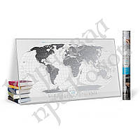 "Скретч карта мира ""Travel Map AIR World"" (анг.)"