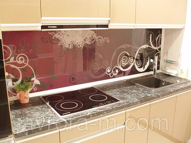 Кухня крашенные фасады матовые  и глянцевые