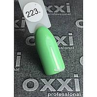 Гель лак Oxxi Professional 8 мл 223 Светло салатовый